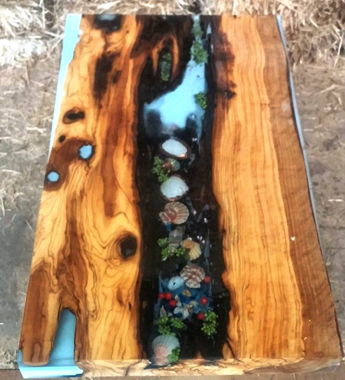 48 Best Epoxy Tables Images On Pinterest Wood Tables