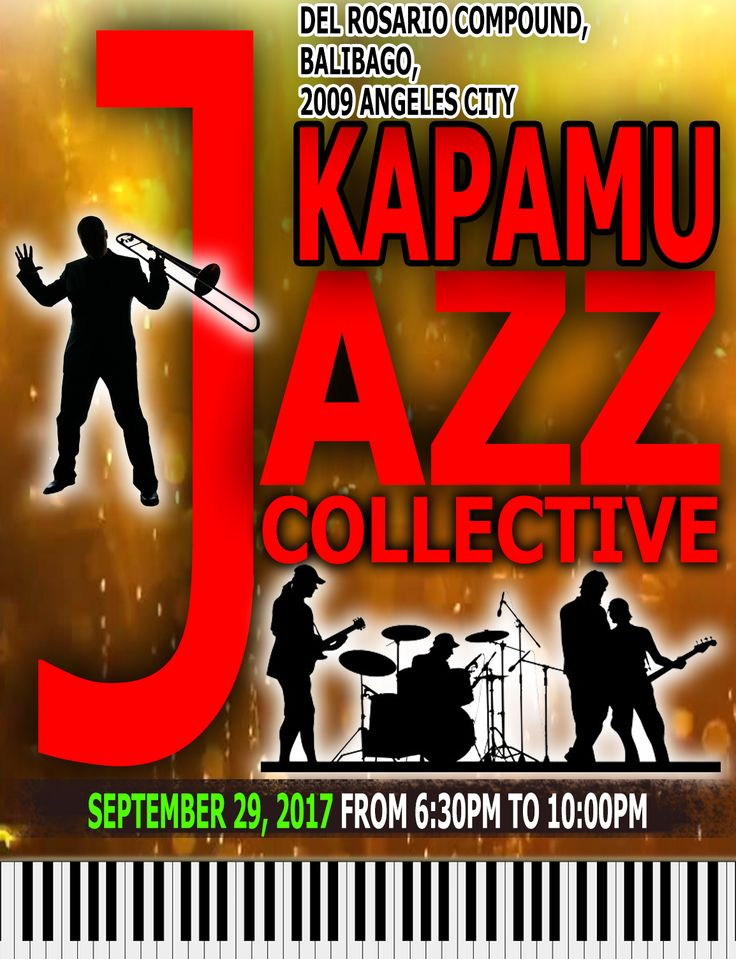 Mark the date September 29, KapaMu Jazz Collective live jazz concert at The Jazz Grill! See you there …