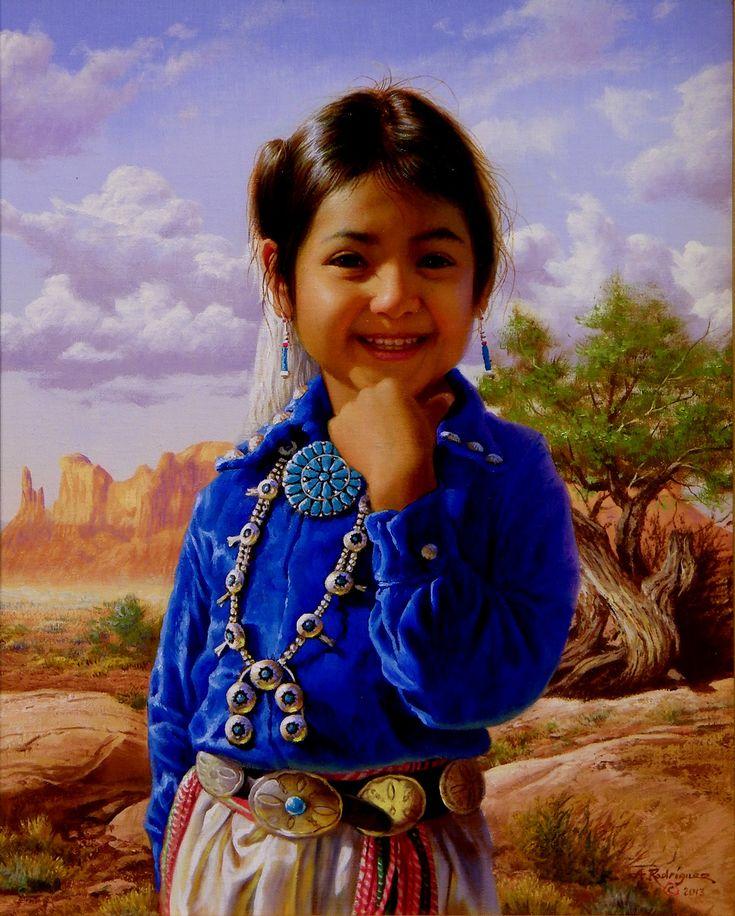 navajo indian girl