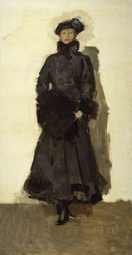 Mata Hari 1916 Isaac Israels (1865 - 1934)