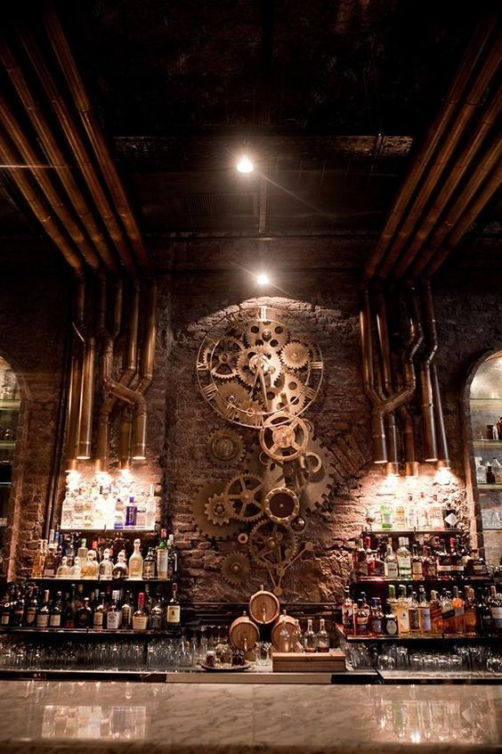 Bree Will Commision A Sculpture Similar To This One Her Bar Be Brick Lined Seemingly UndergroundThe Cavern