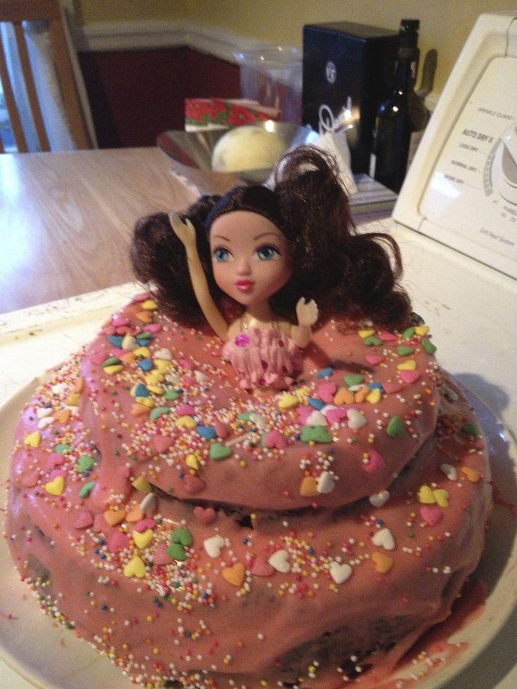 Gâteau de princesse pour mon 26e anniversaire