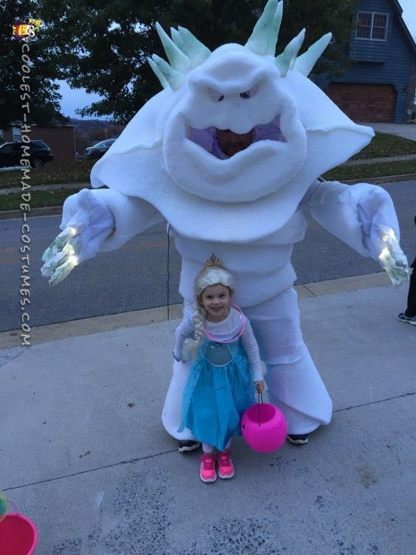 Frozen's Marshmallow Snow Monster Costume