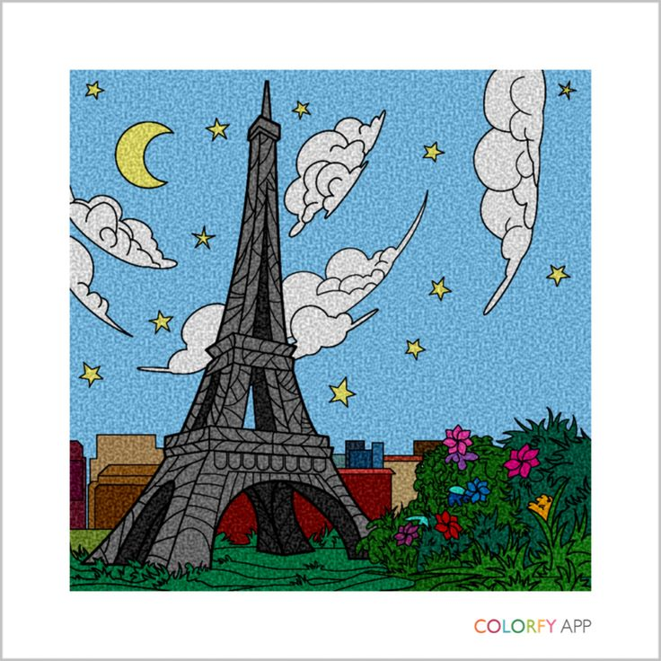Colorfy Lets You Paint The Worldu0027s Greatest Landmarks! Travel With Colorfy  While Creating A Beautiful