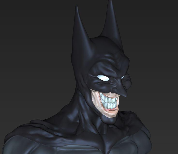 Batman JOKER  - por Riujii takasu mirar tambien el video de como se realizo el proyecto en mi tablero de modelado :) suscribance