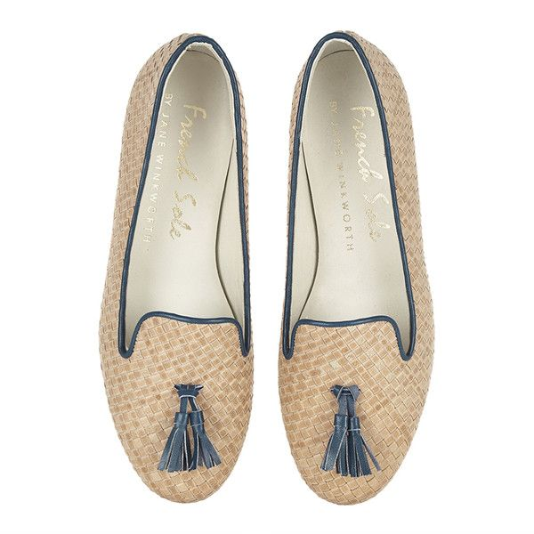 NUDE woven LEATHER Ballet Flats ❤ liked on Polyvore featuring shoes, flats, ballet shoes, nude footwear, nude ballet pumps, skimmer flats and ballerina shoes