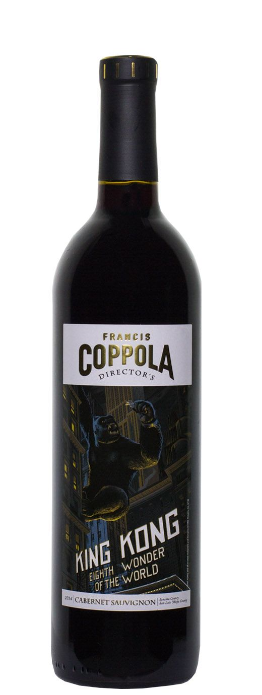 2014 Francis Coppola Cabernet Sauvignon Directors Great Movies - King Kong - Buy Wine Online | B-21 Wine, Liquor & Beer
