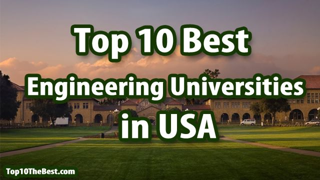 Top 10 Best Engineering Universities in USA   #usa #engineering #university