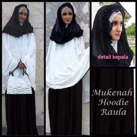 #Mukenah hoodie Raula
