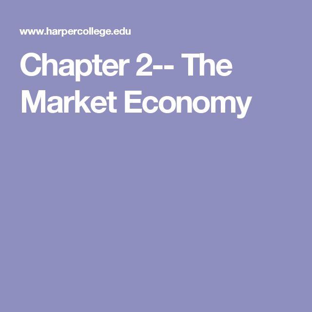 Chapter 2-- The Market Economy