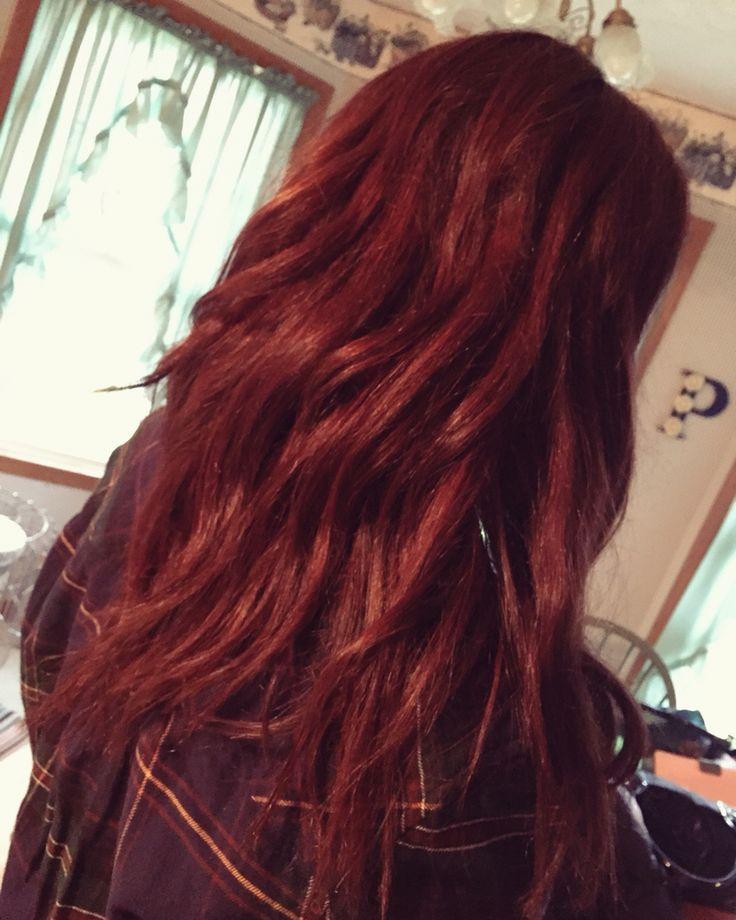 Chelsea Houska inspired red   Chelsea houska hair, Chelsea houska hair ...