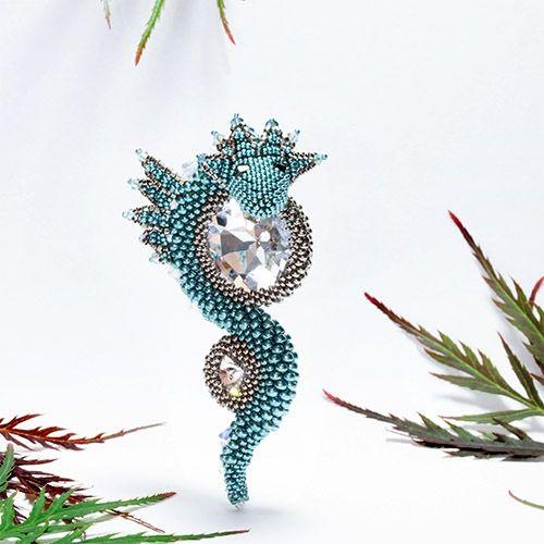 Anleitung Perlen fädeln - Saphira