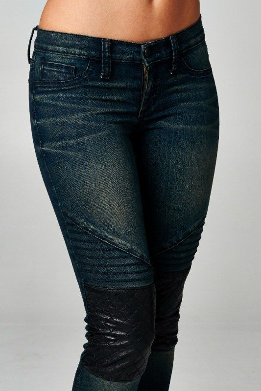 moto leggings boutique. obsessions boutique - moto jeans with quilted knee, $34.99 (http://www leggings