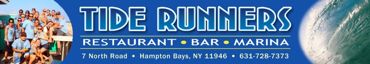 Great outdoor location on the canal in Hampton Bays. Live music, local crowd and tasty appetizers.