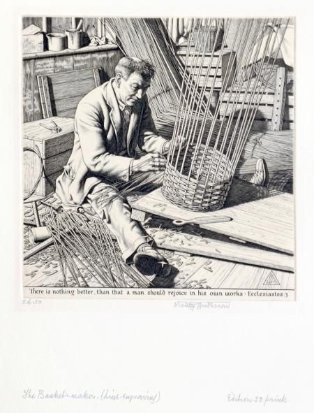 THE BASKET MAKER by STANLEY ANDERSON