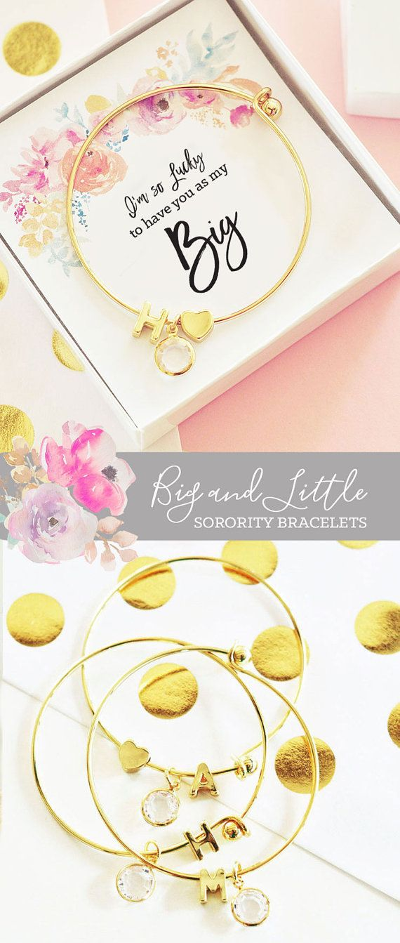 Sorority Jewelry Big Little Gifts Big Little Reveal by ModParty