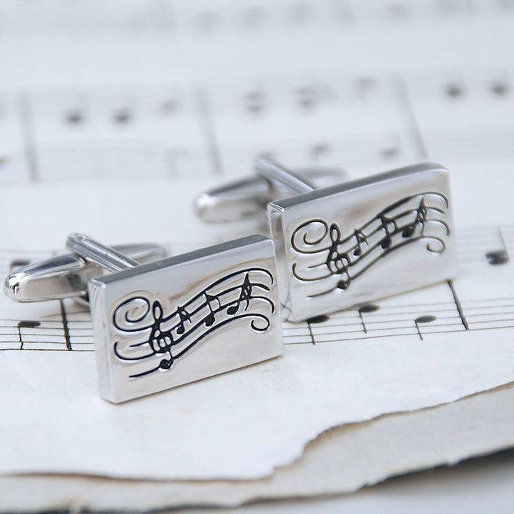 You'll always hit the right note if you choose these stylish and individual music note cufflinks which are right on key for music lovers everywhere.To make the gift extra special a chromed box can be chosen and this can be personalised with a message of your choice which is beautifully engraved on the lid. We are happy to send your order directly to your recipient. A personal message can be added – this will be printed onto the gift receipt and enclosed with your order. No pricing ...
