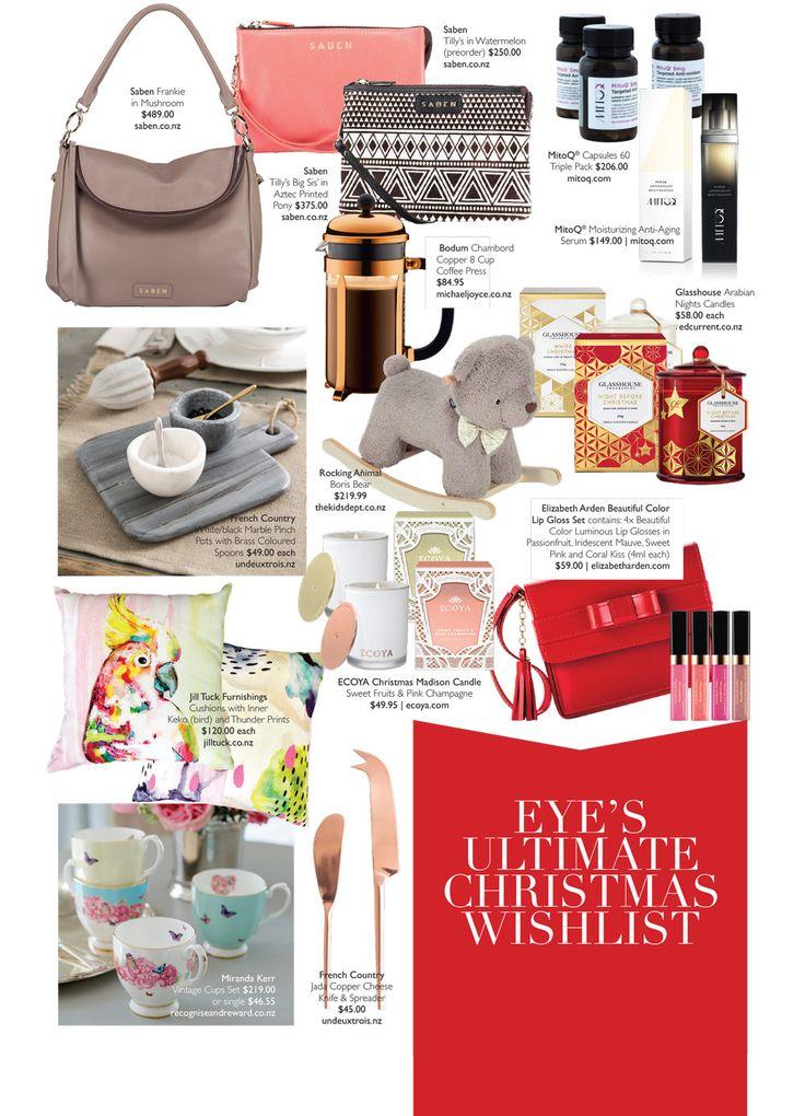 Eye Magazine's Ultimate Christmas Wishlist