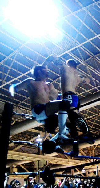 Lucha acrobatica wrestling en la Japan Weekend