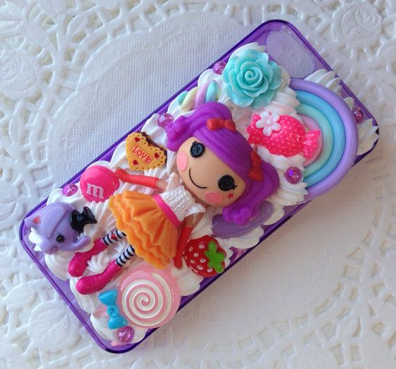 Handmade Decoden Lalaloopsy iPhone 5 Case by PennypantsDecoden, £20.00