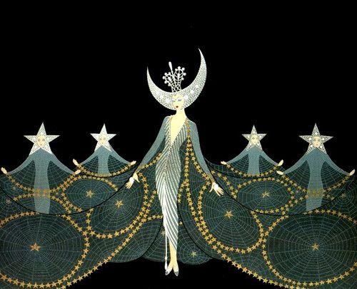 Art Deco: Erte, Queen of the Night