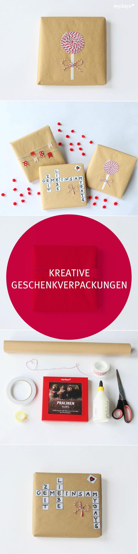 Kreative Geschenkverpackungen DIY