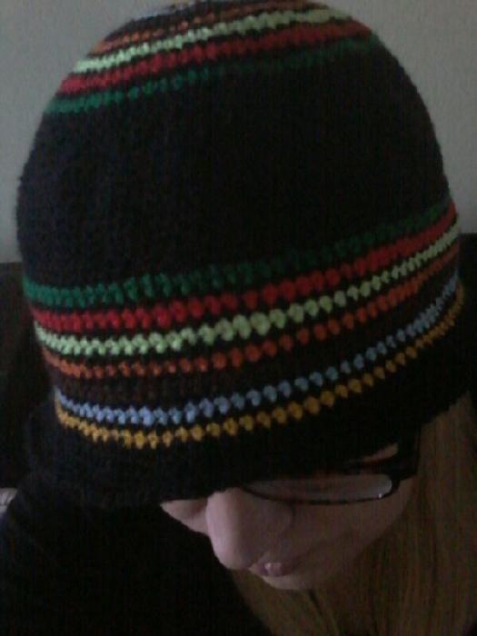 zimní klobouček / winter hat