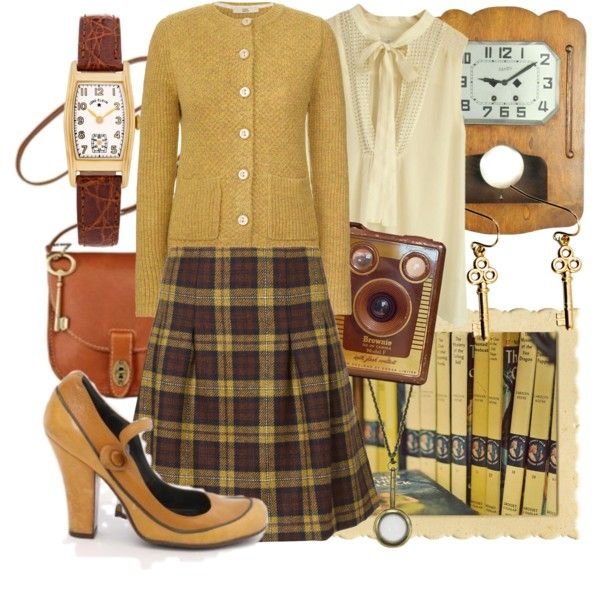 yellow spine nancy drew books  vintage inspired outfits