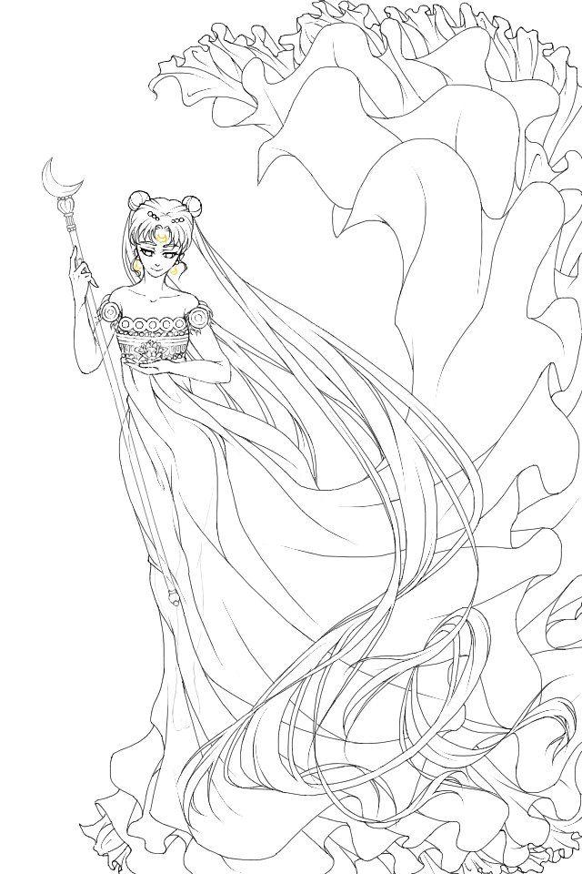 Pin By Crystal Beetham On Sailor Moon Illustrations Sailor Moon Coloring Pages Moon Illustration Sailor Moon
