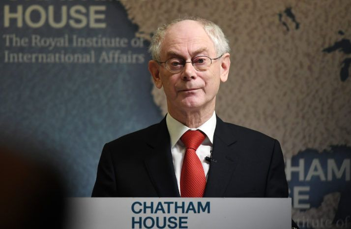 2/22/17 UK will leave EU before trade agreement in place: Van Rompuy  Former European Council president says two years won't be anywhere near enough to strike a deal with the EU