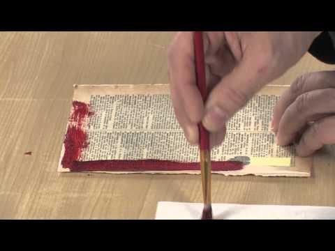 ▶ Easy Mixed Media Techniques for the Art Journal with Seth Apter - YouTube