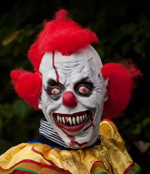 Scary Clown Faces | Scary clown faces | Oddities, curious, funny and humor pics