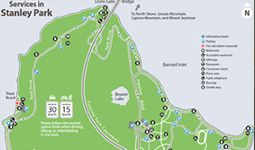 Download a copy of the services map for Stanley Park