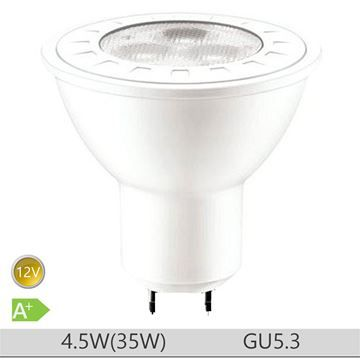 Bec LED PILA 4.5W GU5.3 forma spot MR16, lumina neutra