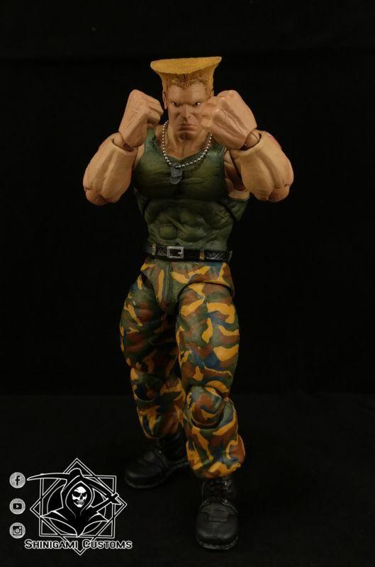 Guile - Street Fighter V (Street Fighter) Custom Action Figure