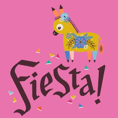 Stacy Peterson   Mexican Fiesta illustration via Print & Pattern