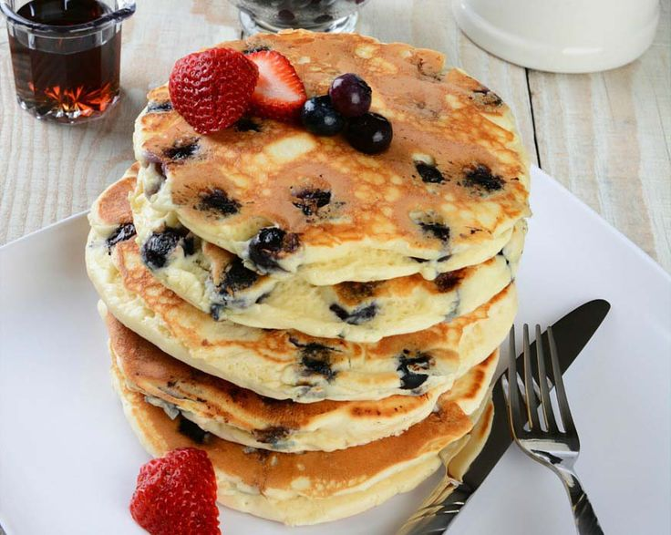 Read our delicious recipe for Blueberry Pancakes, a recipe from The Healthy Mummy, which is a safe way to lose weight.