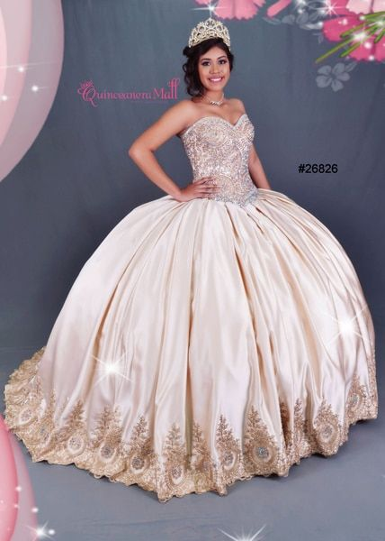 95ef4b4ba7b This very pretty red or gold quinceanera dress  26826 from house of wu  quinceanera collection is the most popular dress especially for the  western