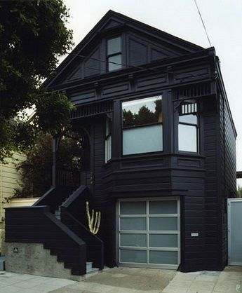 looks kind of like anton lavey's house???