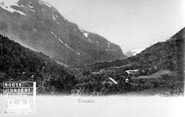 DigitaltMuseum - Elvesæter i Bøverdalen
