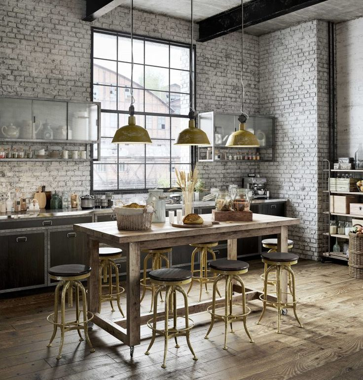 24 best Loft en 3D images on Pinterest | Industrial loft, Home ideas ...