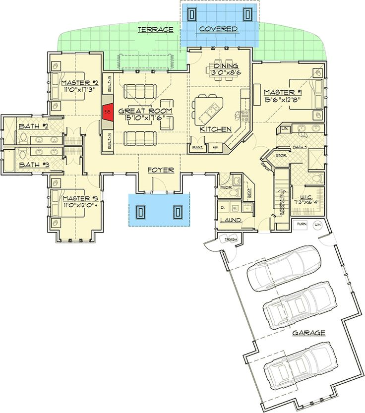 1000 ideas about mountain house plans on pinterest for Mountain vacation house plans