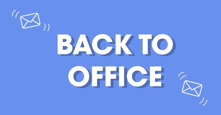 La cura del síndrome post-vacacional no está en la cama. Está en Back to Office, la respuesta automática perfecta para volver al trabajo con mucho humor. Genera tu respuesta personalizada y, ¡que la disfruten!