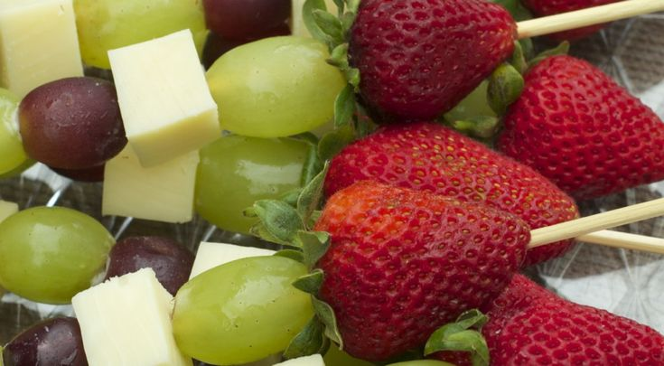 Fruit & Cheese Kabobs- Easy Cookout Appetizer | Divas Can Cook