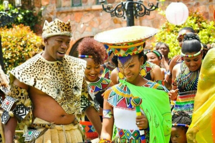Zulu Versus Western Southafrican Traditional Wedding Pinterest And Westerns