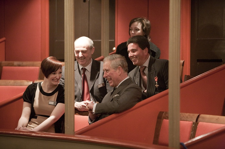 Prince Charles in The Theatre Royal