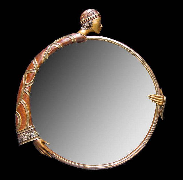 Art Decó mirror