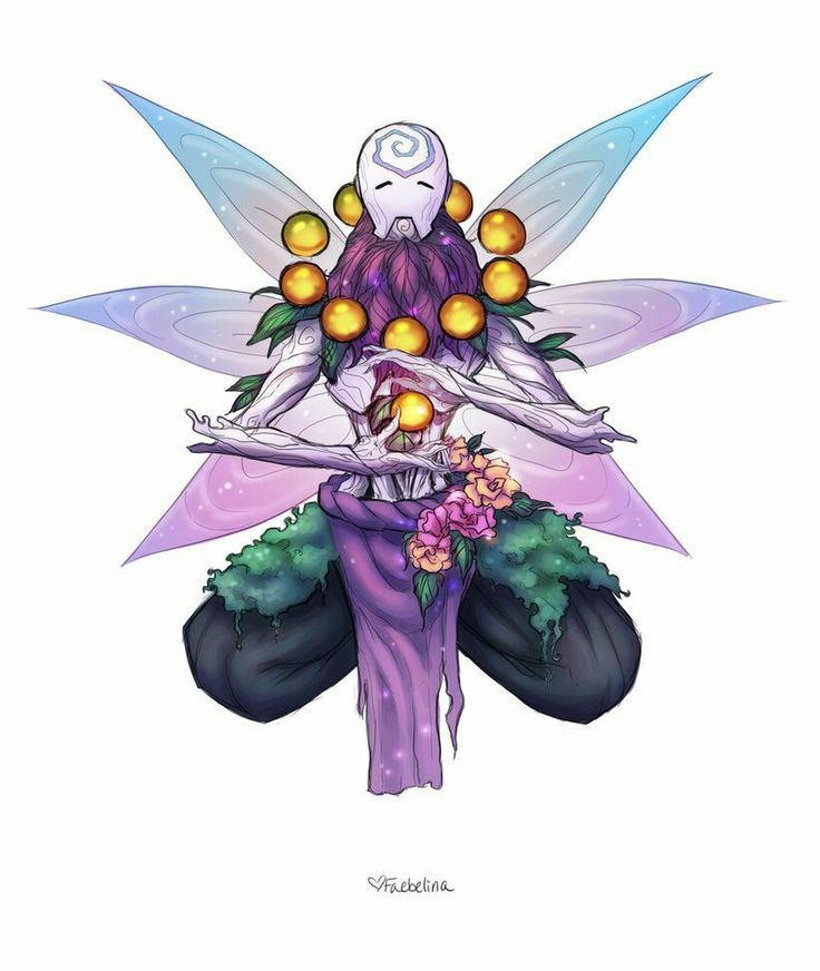 Zenyatta Fairy skin concept