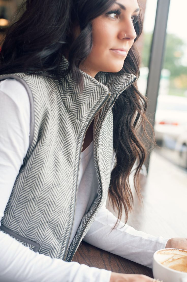 || They Grey Herringbone Vest || **Employee Favorite** The Grey Herringbone Vest will be here and gone before you know it! This vest is seriously so perfect for Fall! You don't want to miss this one!