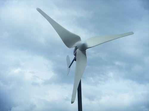 turbina generador eolico 450 w ac mas eficiente panel solar
